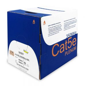 Bulk CAT 5E Plenum Cable