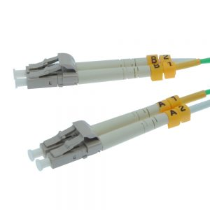 9m Fiber Optic Jumpers 50/125 10G Multimode Duplex LC-LC