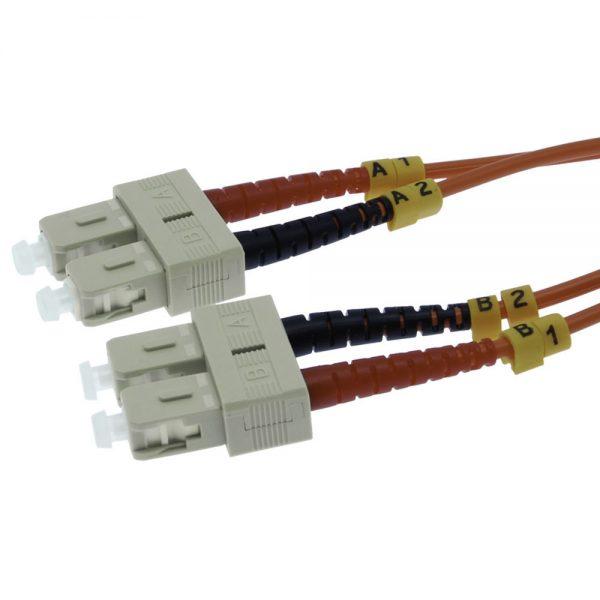 7m Fiber Optic Jumpers 62.5/125 Multimode Duplex SC-SC