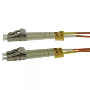 7m Fiber Optic Jumpers 50/125 Multimode Duplex LC-LC