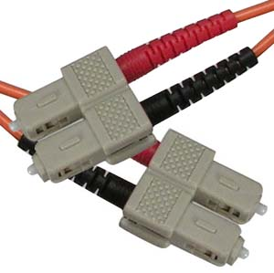 7m Fiber Optic Jumpers 50/125 Multimode Duplex SC-SC