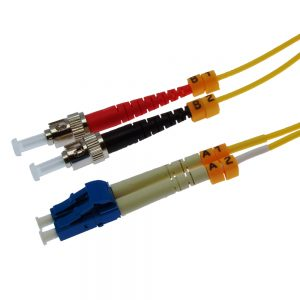 7m Fiber Optic Jumpers 9/125 Singlemode Duplex LC-ST