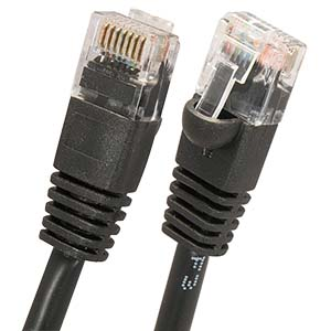 CAT 5E UTP Booted Cables