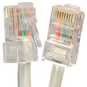 CAT 5E UTP CMR Non Booted Cables