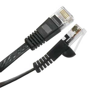 CAT.6 Black  Patch Cable