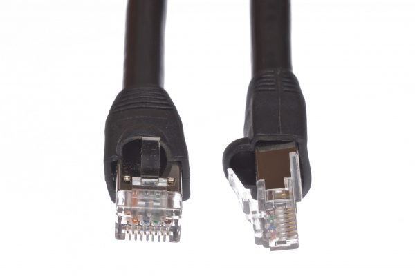 Outdoor CAT 6 Shielded Direct Burial Patch Cable